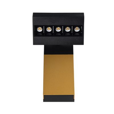 ITALLINE FOCUS cold black & gold & black