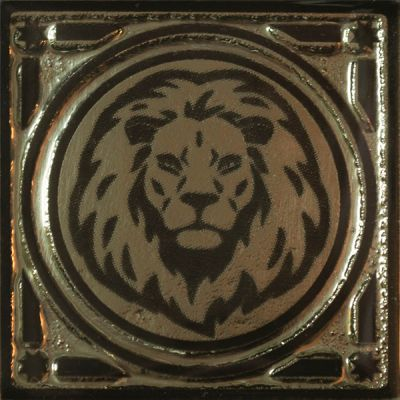 Castle Gold lion Напольная 6,70x6,70