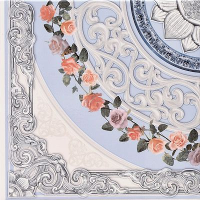 Deep Decor Sea flower Напольная 33,30x33,30