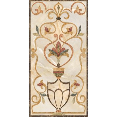 Saten Decor beige Настенная 33,00x45,00